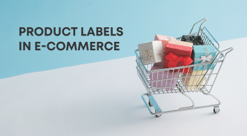 Product labels in e-commerce